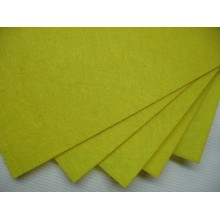 фетр желтый 1мм жестк