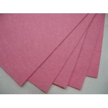 фетр розовый 1мм жестк