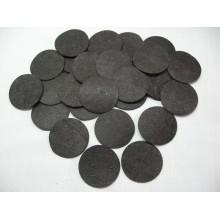фетровые кружочки 4см черные