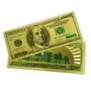 100 золотых сувенирных долларов