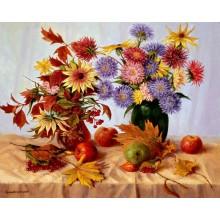 Цветочки, листики