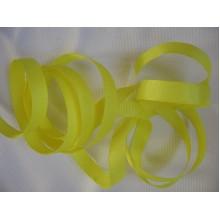 репсовая лента 1см желтая