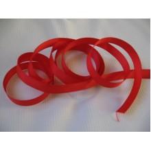 репсовая лента 1см красная