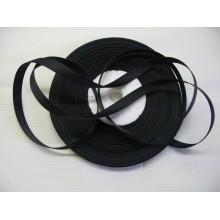 репсовая лента 0,6см черная