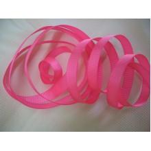 репсовая лента 1см розовая
