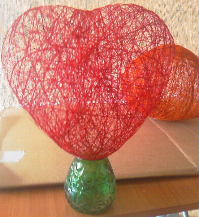 Делаем сердце своими руками шар